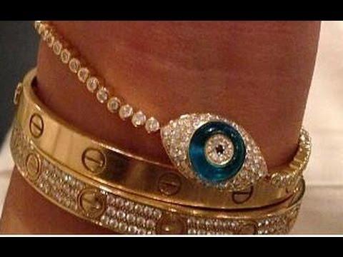 Kim Kardashian's New Illuminati All-Seeing Eye Diamond Bracelet