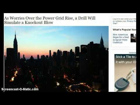 Drill Simulating Attack on Power Grid November 13th-14th, FEMA Region III & A Long List of Drills!