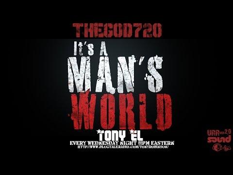 """(URR TV) """"It's A man's Man's Man's World"""" W/Maurice Woods, THEGOD720, Tony El & Telek1n3tic"""