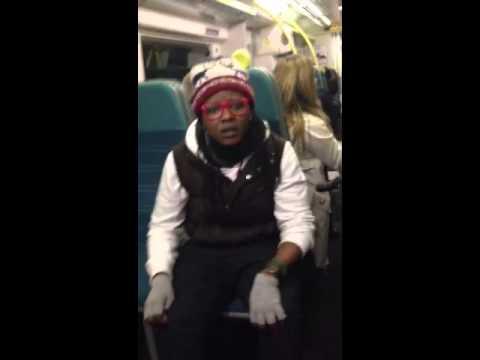 London Victoria to Gatwick train ( undercover racism)