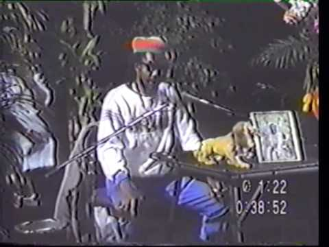 Peter Tosh interview - New York 1986