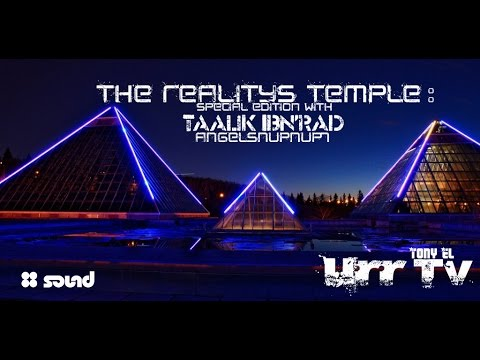 """(URR TV): Taalik Ibn'rad & """"The Reality's Temple"""" Special Edition #B"""