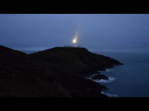 Strumble Head Lighthouse at night