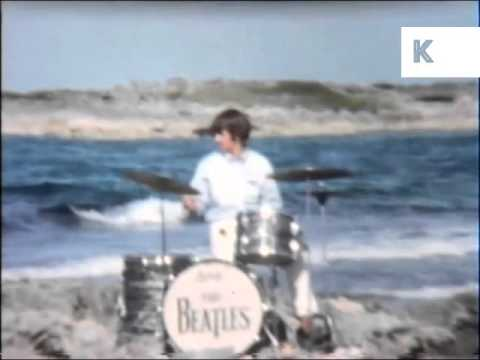 1960s Beatles filming Help, Rare Unseen Home Movie Footage