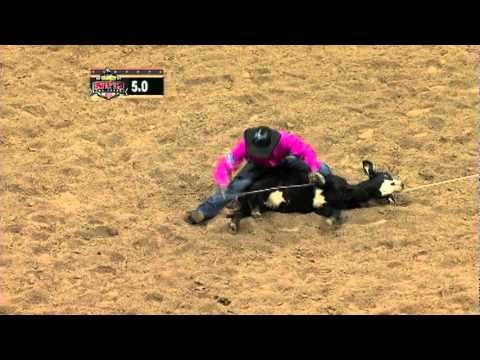 Highlights of 11 NFR Calf Roping