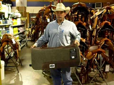 Orthopedic Felt Saddle Pad from Cactus Saddlery