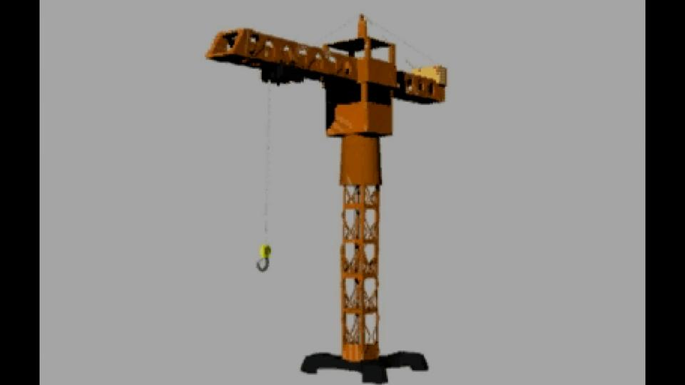 Animated Crane