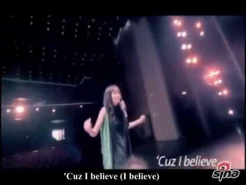 "Jane Zhang ""I Believe"" lyrics & video"