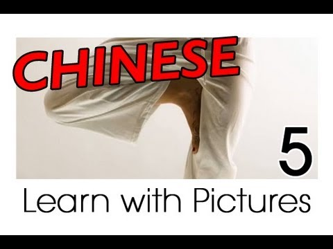 Learn body parts vocabulary in Chinese - practice and quiz