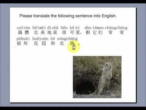"Learn Chinese with the ""Gopher Singer"""