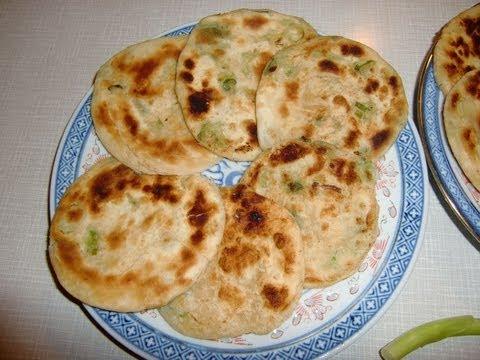 Chinese spring onion (Scallion) pancakes