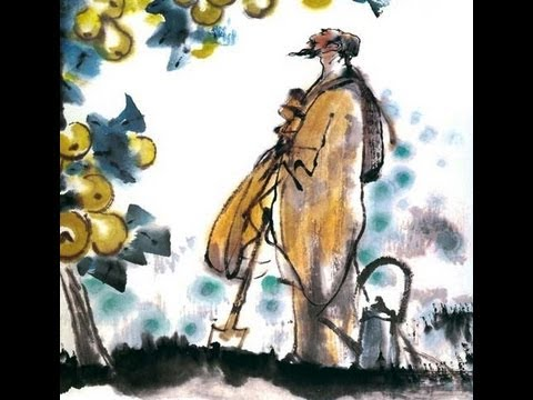 Reading story in Chinese and English--  种梨 Planting pear