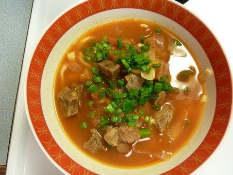How to make Chinese home-made noodle