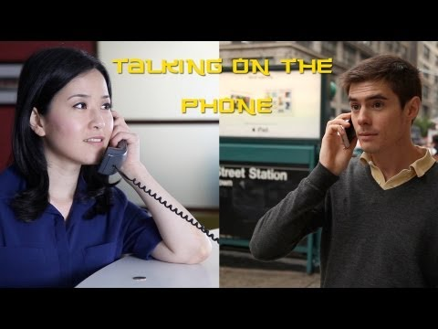 Talking on the Phone in Chinese