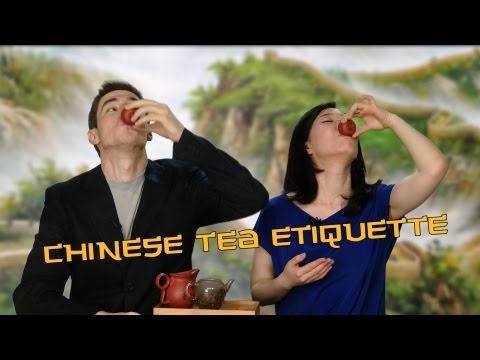 Chinese Tea Etiquette: Thanking Someone for Tea