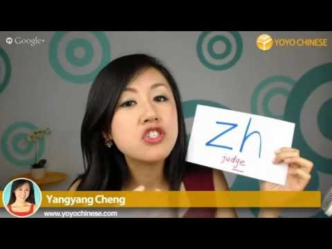 "How to pronounce ""zi ci si zhi chi shi ri"" - Google Hangout On Air with Yangyang"