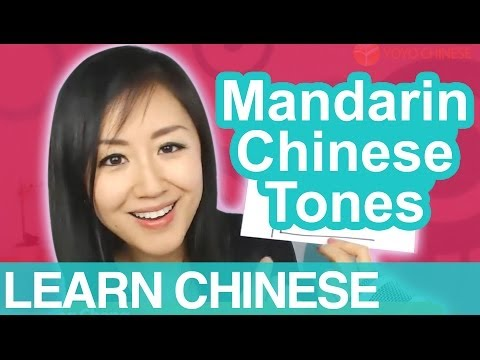 Mandarin Chinese Tones - Beginner Conversational Chinese Lesson 2