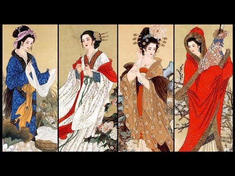 The Four Most Beautiful Chinese Women Ever -Off the Great Wall