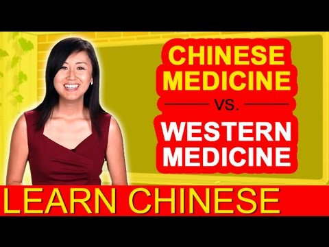 Practicing intermediate Mandarin conversation using Traditional Chinese Medicine compared to Western Medicine