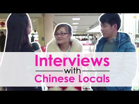 Chinese on the Street - Do you think your girlfriend is beautiful?