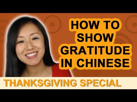 "Mandarin Thanksgiving Special Lesson - Learn how to say ""I'm so lucky to have you as my friend."""
