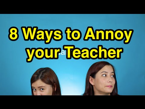 8 Ways to Annoy your Chinese Teacher with Fiona and Iona