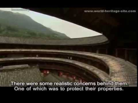 The Earth Buildings of Hakka People, Tulou 客家土楼