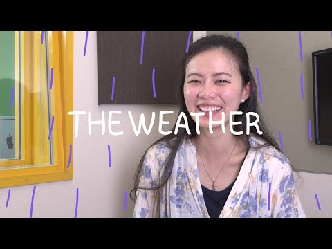 Weekly Chinese Words with Yinru - The Weather