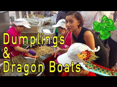 Dumplings and Dragon Boats: Dragon Boat Festival  --  Fiona and Iona Tian