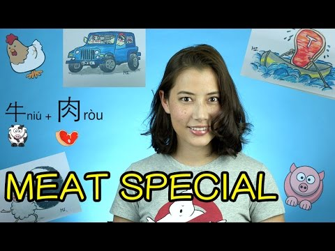 Meat Special - Ordering Food on a Chinese Menu: Survival Mandarin  - Fiona Tian