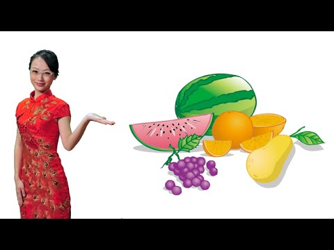 Buying fruits and vegetables in Mandarin