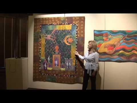Textural Rhythms: Constructing the Jazz Tradition, Contemporary African American Quilts