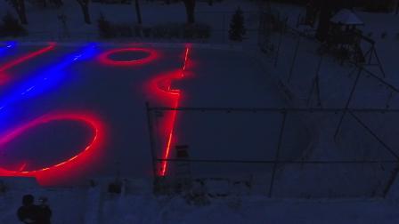 Minnesota style ice rink 2016