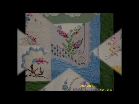 Quilting Heirloom Embroidery collection.wmv