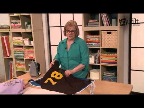 T-Shirt Quilt Tip with Martha DeLeonardis