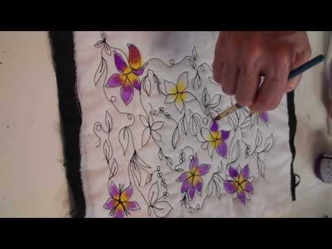 Free Motion Quilting & Painting