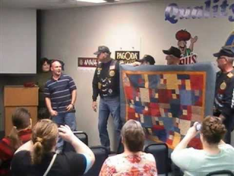 Quilts of Valor Presentation March 24, 2012