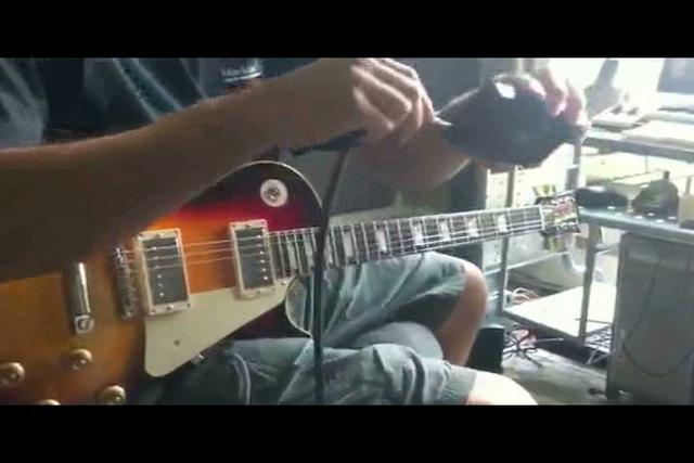 Les Paul Test Drive