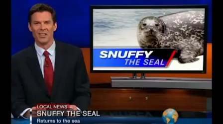 Snuffy The Seal News Report