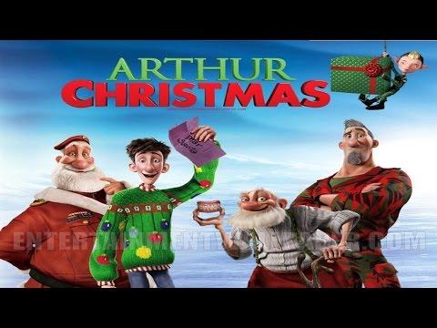 Animation Movies Full Length - Arthur Christmas - Cartoon For Children - Kids Movies
