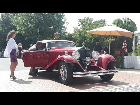 1934 Mercedes Benz 500K Undelfigen Cabriolet A Honored At the 2019 Elegance At Hershey