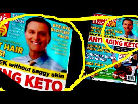 Keto Dr. Eric Berg on a tabloid. They weren't ready for his Bull. I am.