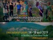 Stage Bases CRAB 3 jours août dans l'Aude