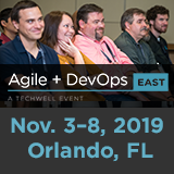 Agile + DevOps East 2019