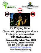 Black on Black Community Crime Tour 2019
