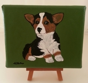 Original One of a Kind Pembroke Welsh Corgi Paintings on eBay.com A portion of sale will go to CorgiAid.  Available for a limited time.  Only $20.00!!!