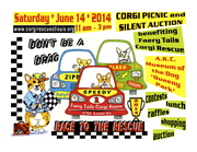 Faery Tails Corgi Rescue Picnic, Auction, and Raffle