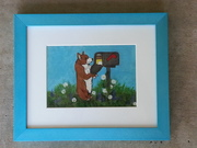 Original Pembroke Welsh Corgi Paintings on eBay.  A portion of final sale will go to CorgiAid.