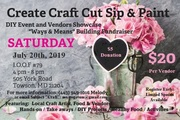 Create Craft Cut Sip and Paint