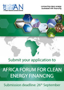 CTI PFAN - Africa Forum for Clean Energy Financing